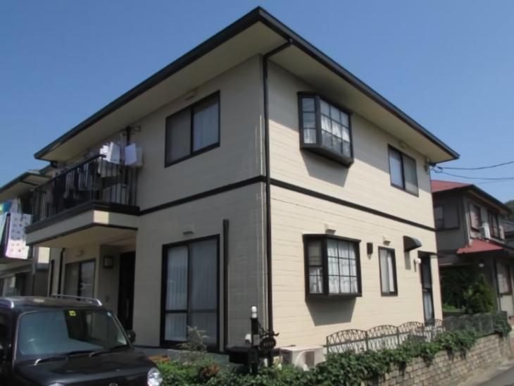 倉敷市福田町 F様邸 屋根・外壁塗装工事例