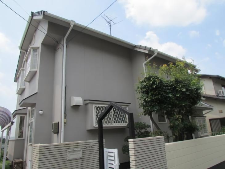 倉敷市西尾 T様邸 屋根・外壁塗装工事例