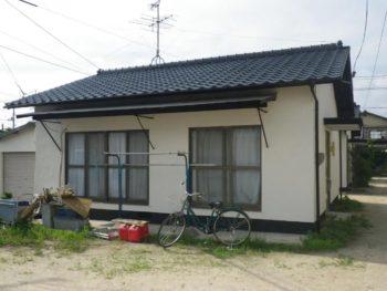 倉敷市浜ノ茶屋 S様借家 屋根外壁塗装工事