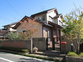 岡山市北区庭瀬 S様邸 外壁低汚染塗装工事例