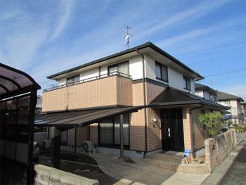 岡山市中区 K様邸 屋根・外壁塗り替え工事