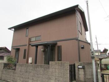 岡山市南区 A様邸 外壁及び屋根塗り替え工事