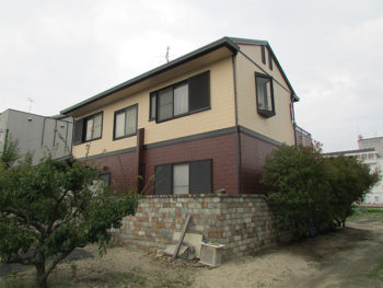 倉敷市下庄 K様邸 屋根外壁塗り替え工事