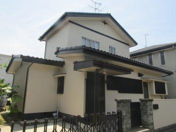 倉敷市浜ノ茶屋 H様邸 外壁・屋根 塗装工事例