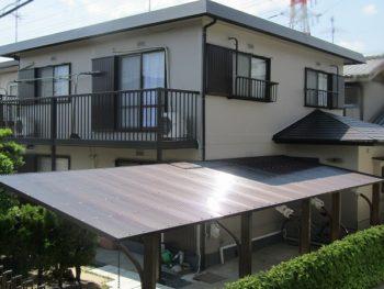 倉敷市 庄新町O様邸 外壁・屋根 塗装工事例