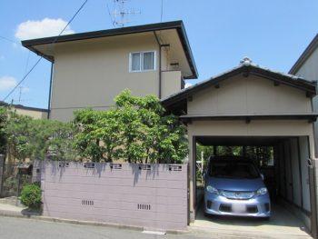 岡山市北区S様邸 外壁・屋根 塗装工事例