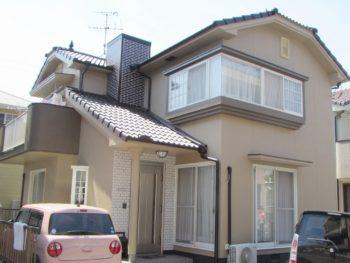岡山市東区西大寺T様邸 外壁・屋根塗装工事例