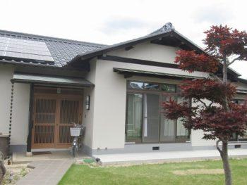 総社市総社Y様邸 外壁・屋根塗装工事例