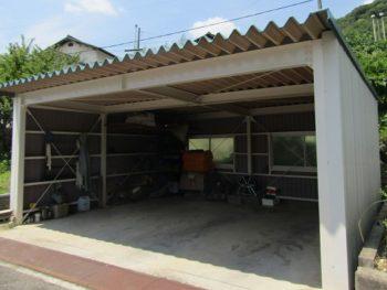 倉敷市玉島F様邸 屋根・車庫塗装工事例