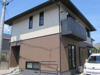 岡山市西大寺中野C様邸 外壁塗装工事例