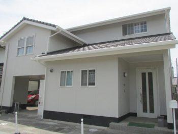 倉敷市串田E様邸 外壁塗装工事例