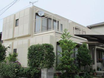 倉敷市庄新町T様邸 外壁・屋根 塗装工事例