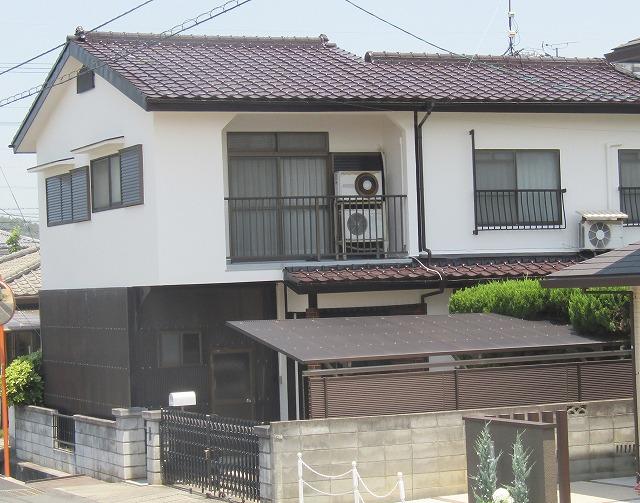倉敷市宮前M様邸 外壁・屋根塗装工事例