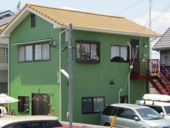 倉敷市田ノ上Y様邸 外壁・屋根塗装工事例