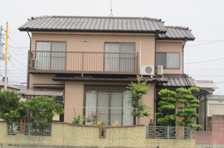 倉敷市田ノ上S様邸 外壁・屋根塗装工事例