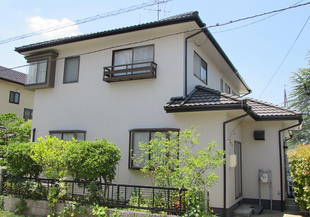 岡山市北区K様邸 外壁・屋根塗装工事例