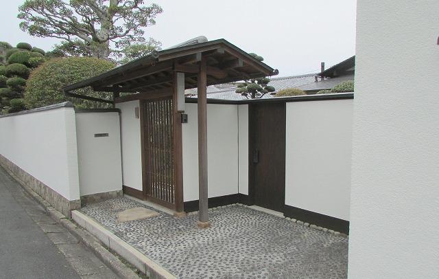 倉敷市美和T様邸 塀・納屋塗装工事例