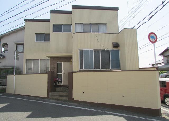 倉敷市浜ノ茶屋I様邸 外壁・塀塗装工事例