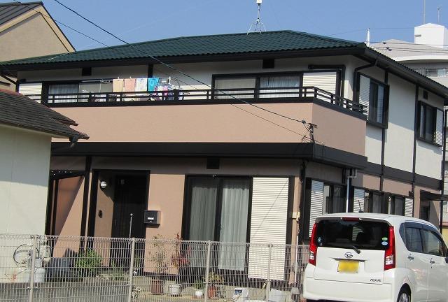 岡山市北区今K様邸 外壁・屋根塗装工事例