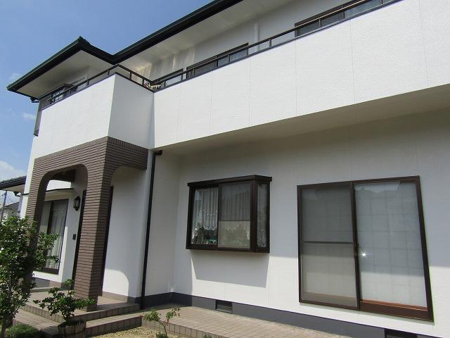 倉敷市黒崎Y様邸 外壁塗装工事例