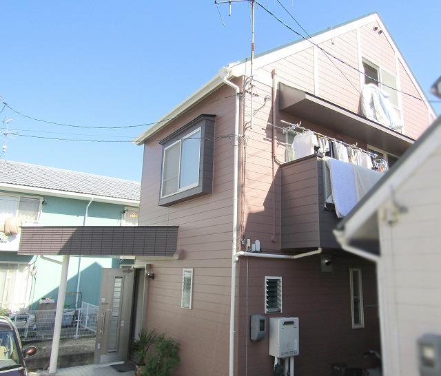 岡山市北区O様邸 外壁・屋根塗装工事例