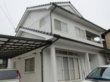 倉敷市中庄T様邸 外壁・屋根塗装工事例