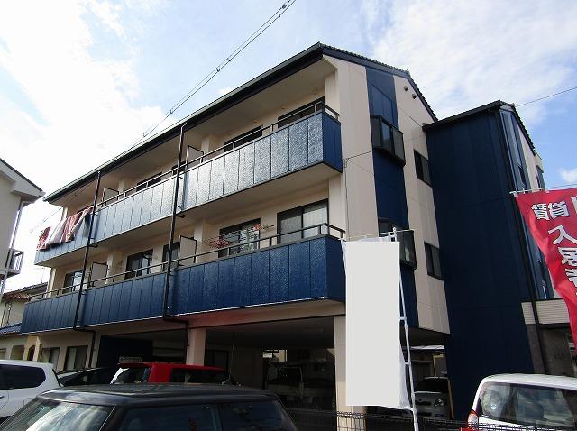 岡山市南区E様邸 マンション外壁塗装工事例