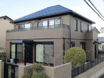 玉野市I様邸 外壁・屋根塗装工事例