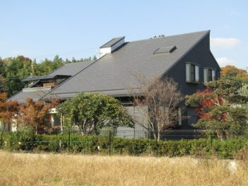 笠岡市S様邸 外壁屋根塗装工事例