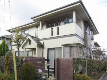 岡山市東区O様邸 外壁・屋根塗装工事例