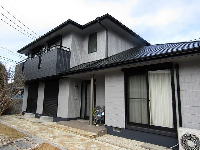 備前市Y様邸 外壁・屋根塗装工事例