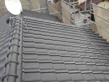 倉敷市真備Y様邸 屋根塗装工事例