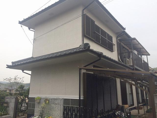岡山市W様邸 外壁塗装工事例