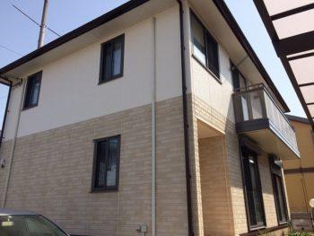 倉敷市藤戸S様邸 外壁・屋根塗装工事例