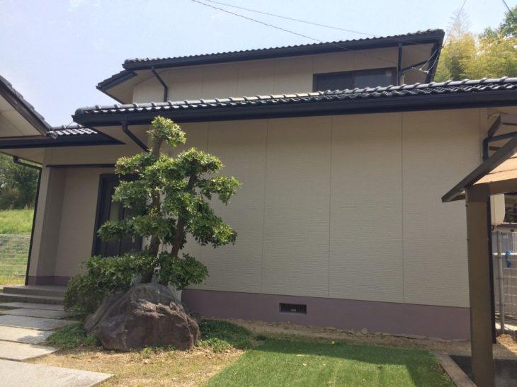 倉敷市玉島I様邸 外壁・屋根塗装工事例