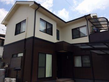 岡山市南区K様邸 外壁・屋根塗装工事例