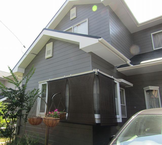 岡山市M様邸 屋根は長持ちの無機塗料、外壁はお得なアウトレット塗料を使用しました