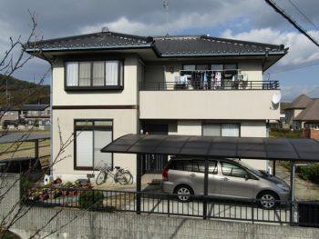 施工前の家の全景