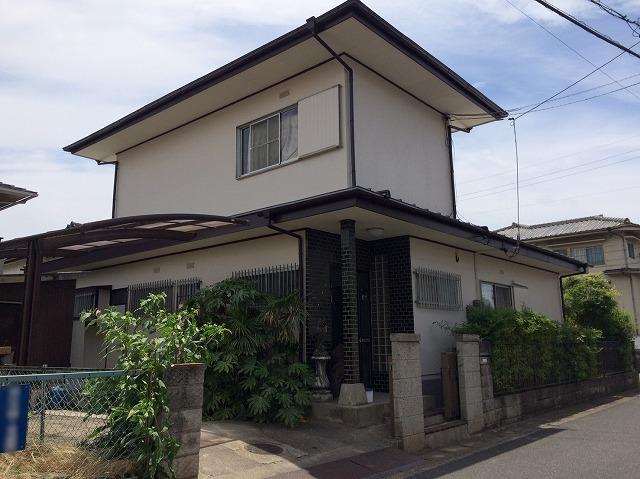 倉敷市安井Y様邸 屋根・外壁塗装工事