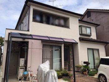 岡山市北区 シーリングが切れ雨漏りを心配されていたお客様