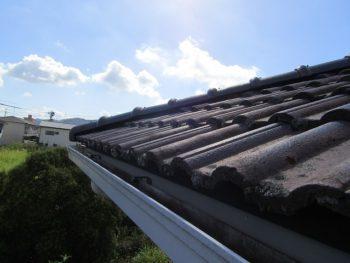 岡山市中区 屋根塗装前