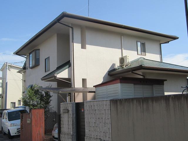 倉敷市宮前 外壁はキレイを保つフッ素、屋根はカバー工法で