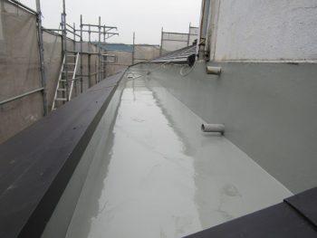 マンションのウレタン防水完成