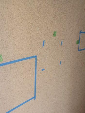 打診調査をして修理する外壁