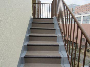 階段の完成