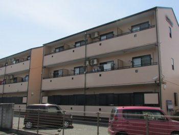 岡山市北区のマンション外壁・屋根の塗装と貯水槽なども塗り替え