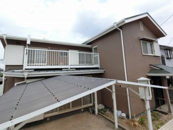 岡山市南区 漏水補修と外壁・屋根の塗装!アウトレットプランで