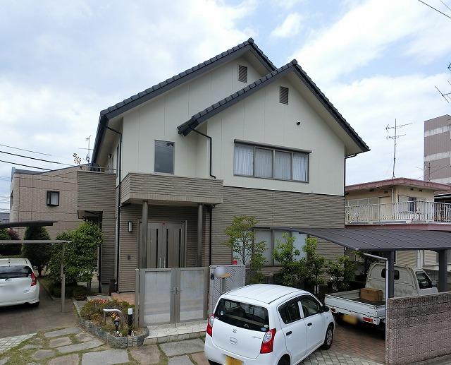倉敷市田ノ上 外壁塗装とバルコニーの修繕FRP防水工事