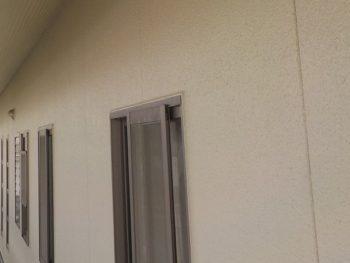 外壁 凸凹模様完成
