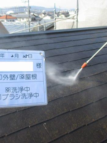 屋根と外壁の洗浄